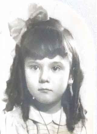 foto infancia rosa diaz poeta sevilla